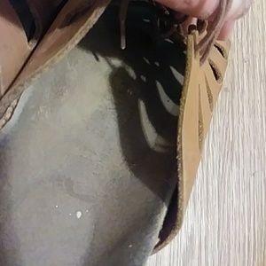e4c027d6d08 Birkenstock Shoes - Vintage Birkenstock Camel Leather. Sz 41N